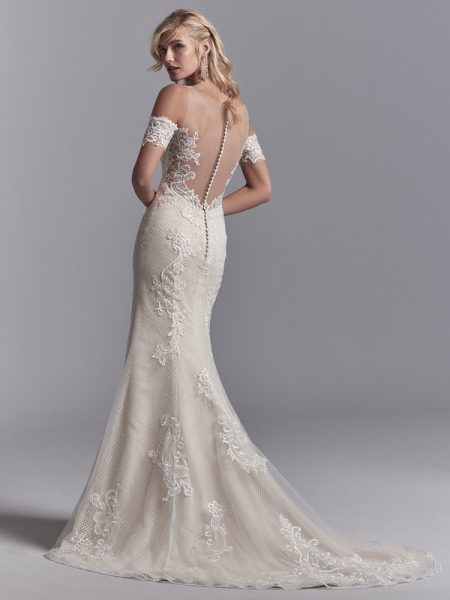 Back of Elin Wedding Dress from the Sottero and Midgley Khloe 2018 Bridal Collection