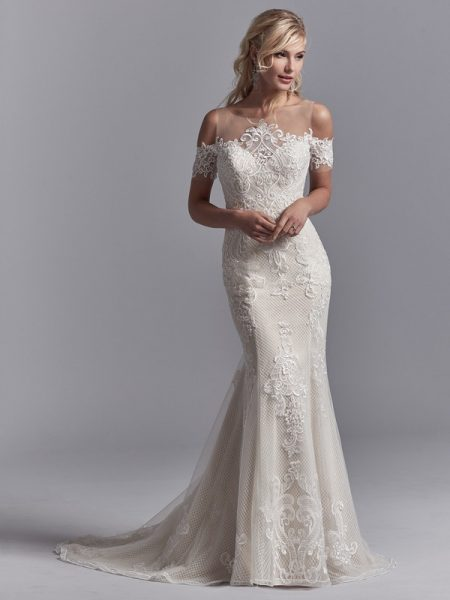 Elin Wedding Dress from the Sottero and Midgley Khloe 2018 Bridal Collection