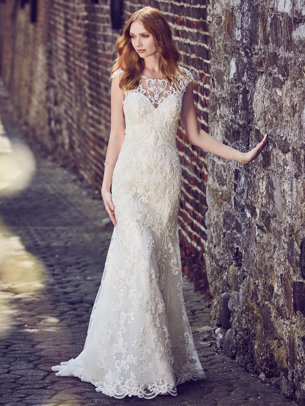 Everly Wedding Dress from the Maggie Sottero Emerald 2018 Bridal Collection