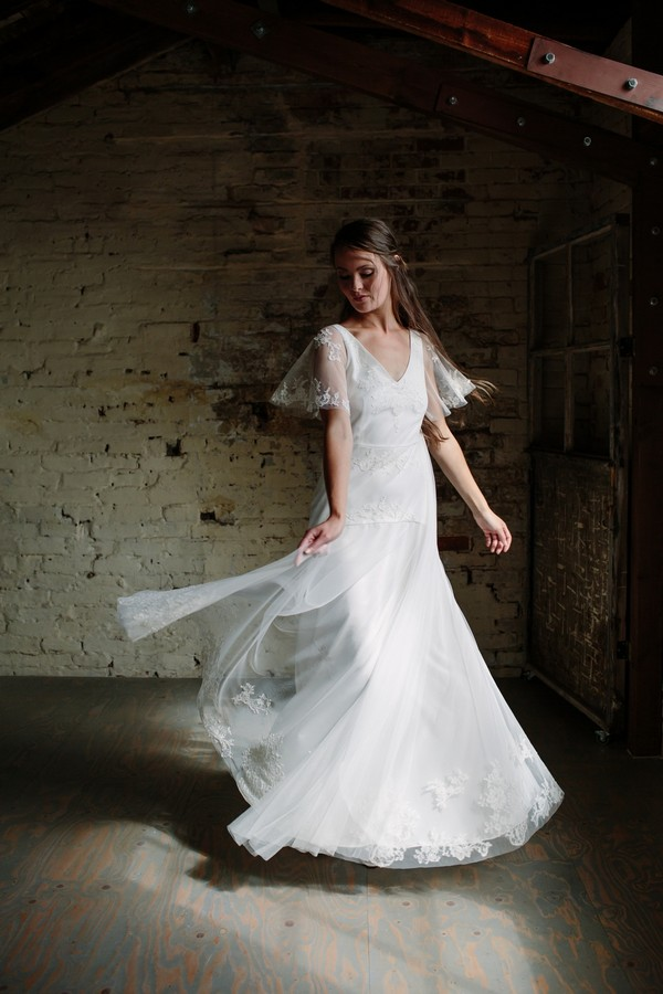 Florence Wedding Dress from the Sienna Von Hildemar 2018 Bridal Collection