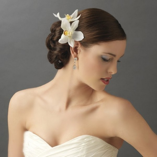 Flower Hair Clips for Tropical Wedding