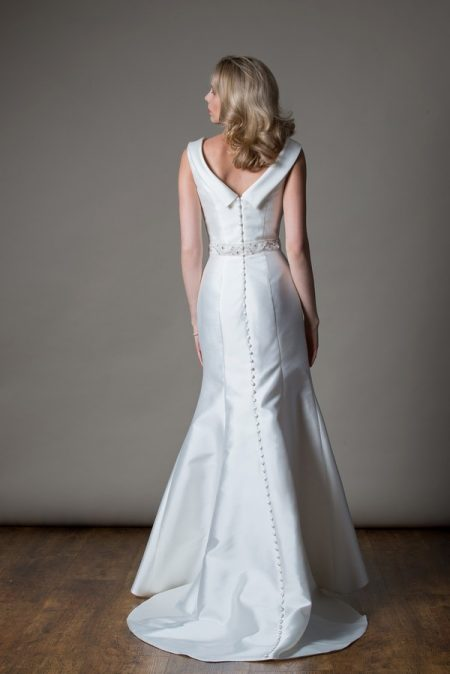 Back of Freda Wedding Dress from the MiaMia Love Letters 2018 Bridal Collection