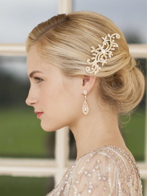 Freya Bridal Hair Comb Summer Bridal Accessory