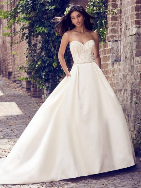 Giselle Wedding Dress from the Maggie Sottero Emerald 2018 Bridal Collection
