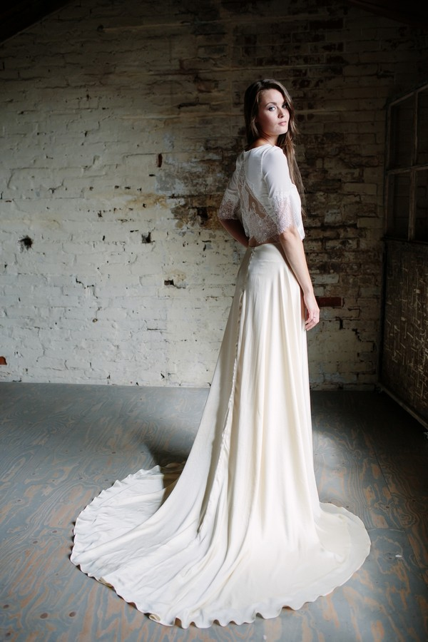 Grace Skirt with Sofia Top from the Sienna Von Hildemar 2018 Bridal Collection