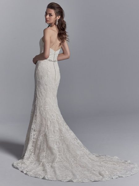 Back of Graham Wedding Dress from the Sottero and Midgley Khloe 2018 Bridal Collection