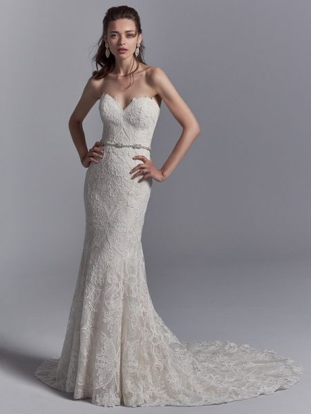 Graham Wedding Dress from the Sottero and Midgley Khloe 2018 Bridal Collection