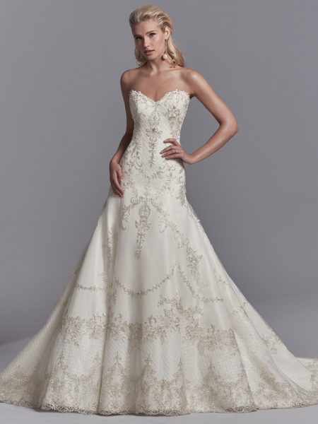 Granger Wedding Dress from the Sottero and Midgley Khloe 2018 Bridal Collection