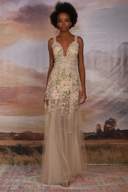Gypsy Rose Wedding Dress from the Claire Pettibone Vagabond 2018 Bridal Collection