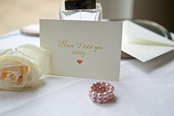 Have I Told You Lately Message On Table