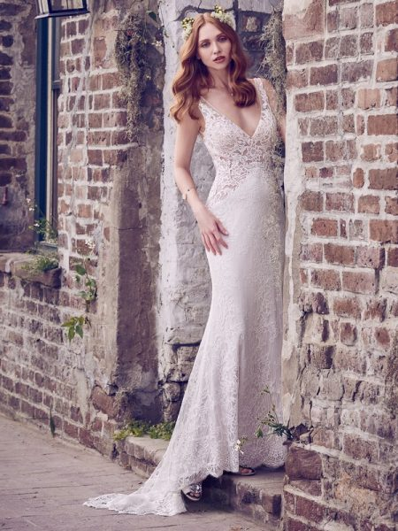 Hazel Wedding Dress from the Maggie Sottero Emerald 2018 Bridal Collection