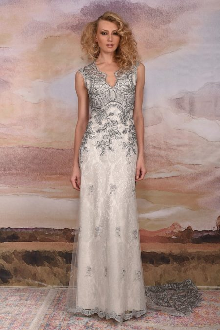 Horizon Wedding Dress from the Claire Pettibone Vagabond 2018 Bridal Collection