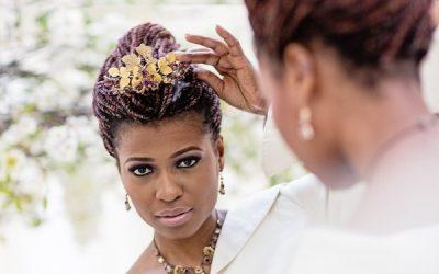 How to Wear a Tiara/Wedding Headdress