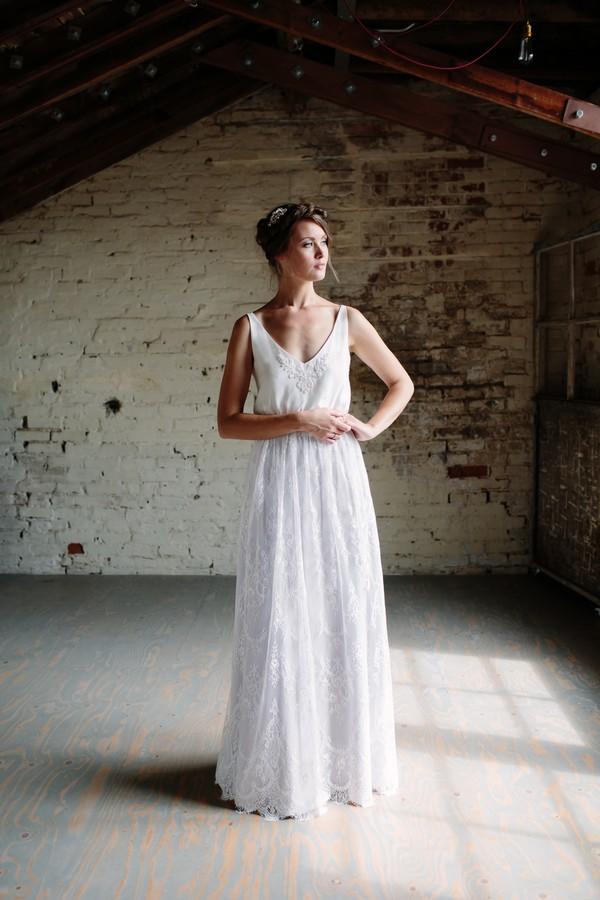 Iris Skirt with Ella Top from the Sienna Von Hildemar 2018 Bridal Collection