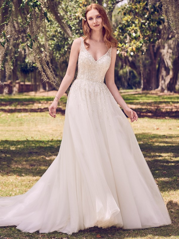 Jace Wedding Dress from the Maggie Sottero Emerald 2018 Bridal Collection