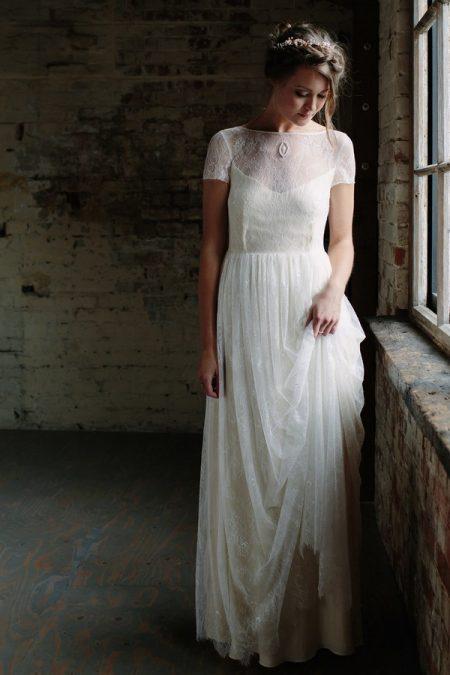 Juliette Wedding Dress from the Sienna Von Hildemar 2018 Bridal Collection