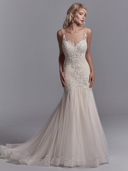 Khloe Wedding Dress from the Sottero and Midgley Khloe 2018 Bridal Collection