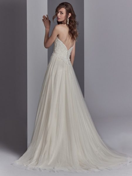 Back of Landri Wedding Dress from the Sottero and Midgley Khloe 2018 Bridal Collection