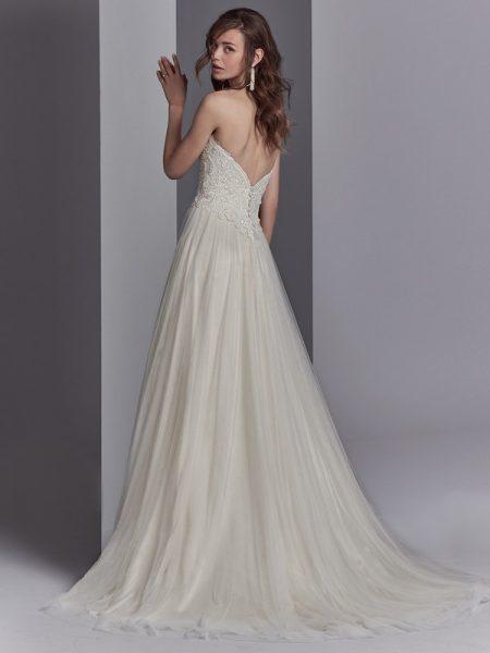 Back of Landri Wedding Dress from the Sottero and Midgley Khloe 2018 Bridal Collection