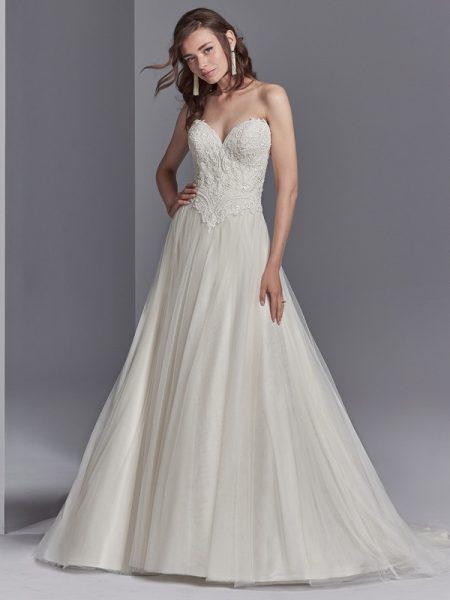 Landri Wedding Dress from the Sottero and Midgley Khloe 2018 Bridal Collection