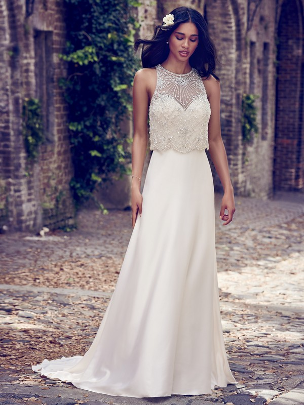 Larkin Wedding Dress from the Maggie Sottero Emerald 2018 Bridal Collection