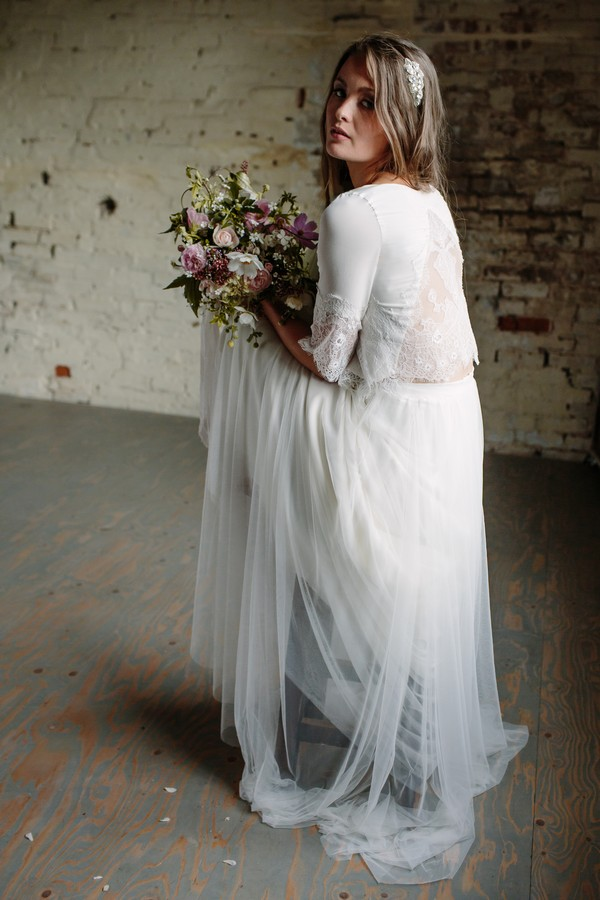 Lily Skirt with Sofia Top from the Sienna Von Hildemar 2018 Bridal Collection