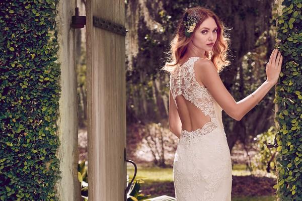 Maggie Sottero Emerald 2018 Bridal Collection - Back of Rhonda Dress