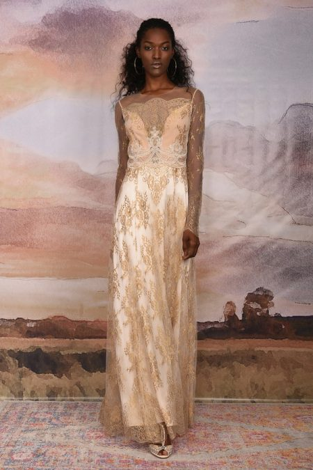 Marrakech Wedding Dress from the Claire Pettibone Vagabond 2018 Bridal Collection