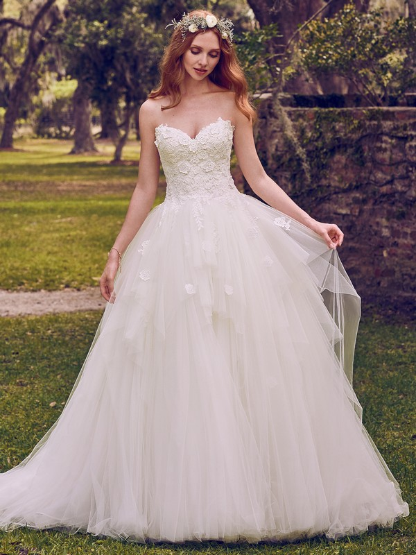 Maura Wedding Dress from the Maggie Sottero Emerald 2018 Bridal Collection