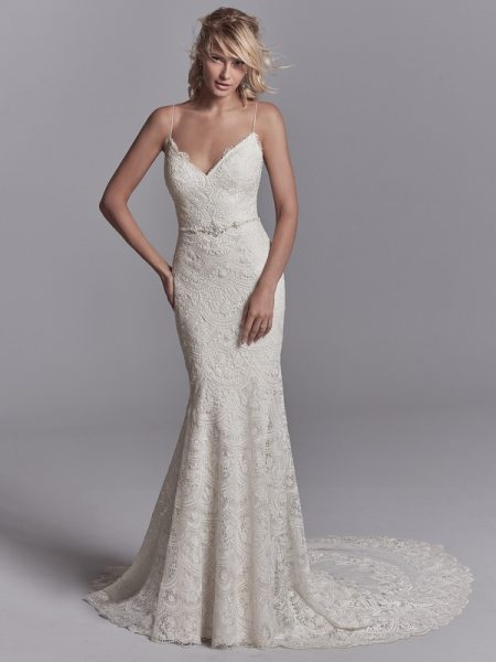 Maxwell Wedding Dress from the Sottero and Midgley Khloe 2018 Bridal Collection