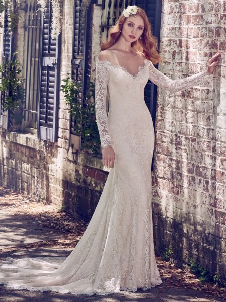 Megan Wedding Dress from the Maggie Sottero Emerald 2018 Bridal Collection