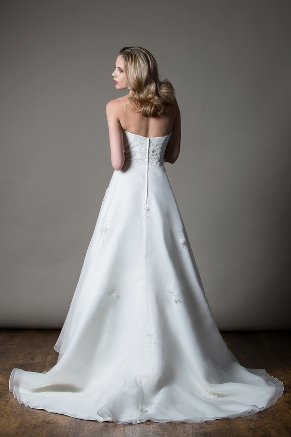 Back of Molly Wedding Dress from the MiaMia Love Letters 2018 Bridal Collection