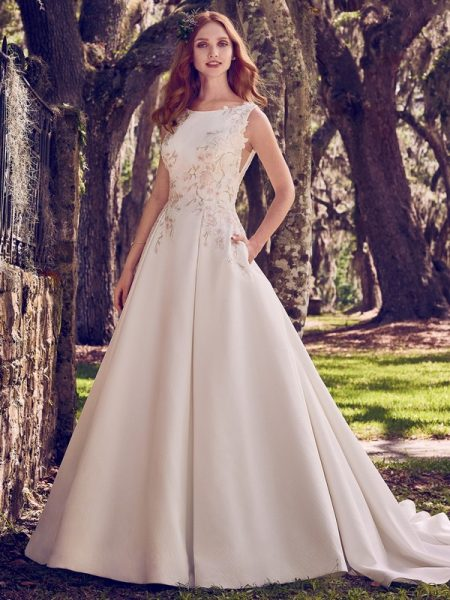 Nalani Wedding Dress from the Maggie Sottero Emerald 2018 Bridal Collection