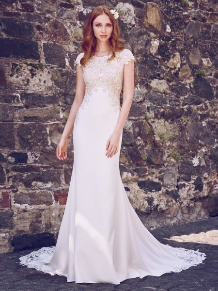 Odette Marie Wedding Dress from the Maggie Sottero Emerald 2018 Bridal Collection