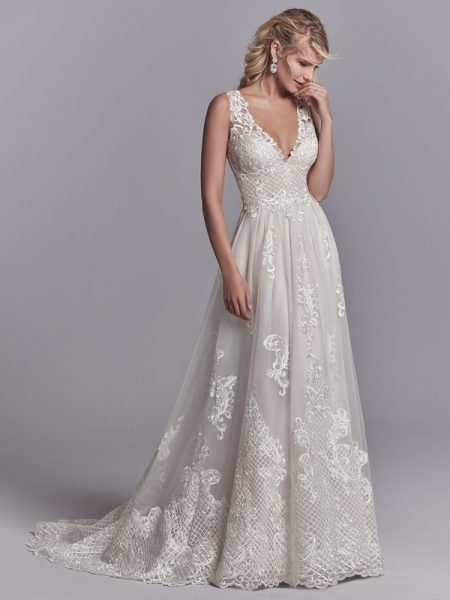 Oliver Wedding Dress from the Sottero and Midgley Khloe 2018 Bridal Collection