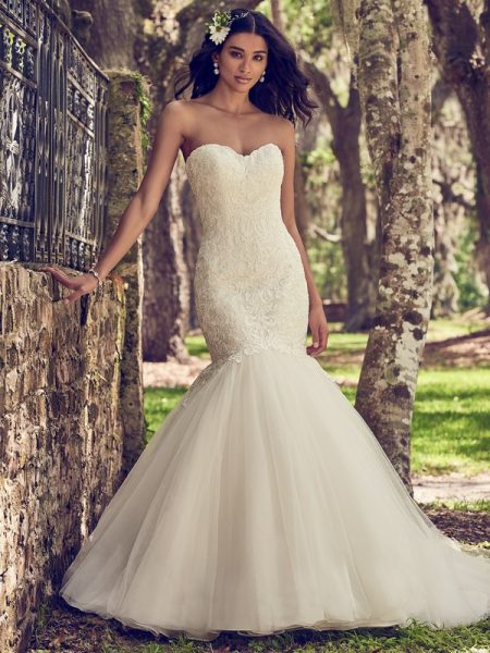 Orchid Wedding Dress from the Maggie Sottero Emerald 2018 Bridal Collection