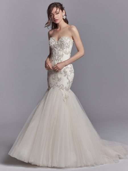 Pierre Wedding Dress from the Sottero and Midgley Khloe 2018 Bridal Collection