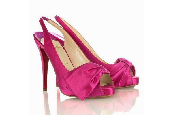 Pink Christian Louboutin Shoes