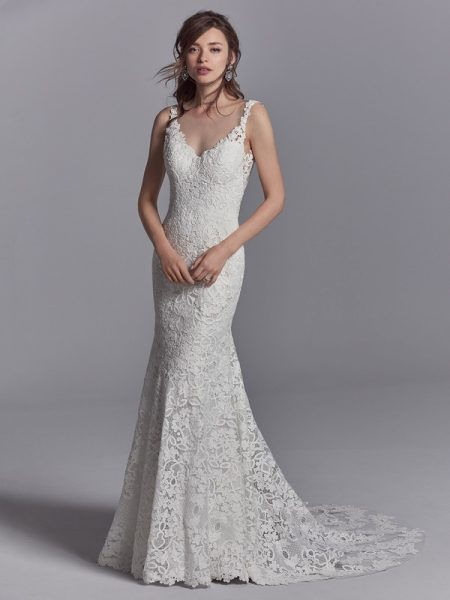 Presca Wedding Dress from the Sottero and Midgley Khloe 2018 Bridal Collection