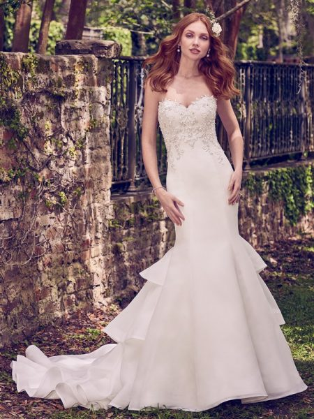Quintyn Wedding Dress from the Maggie Sottero Emerald 2018 Bridal Collection