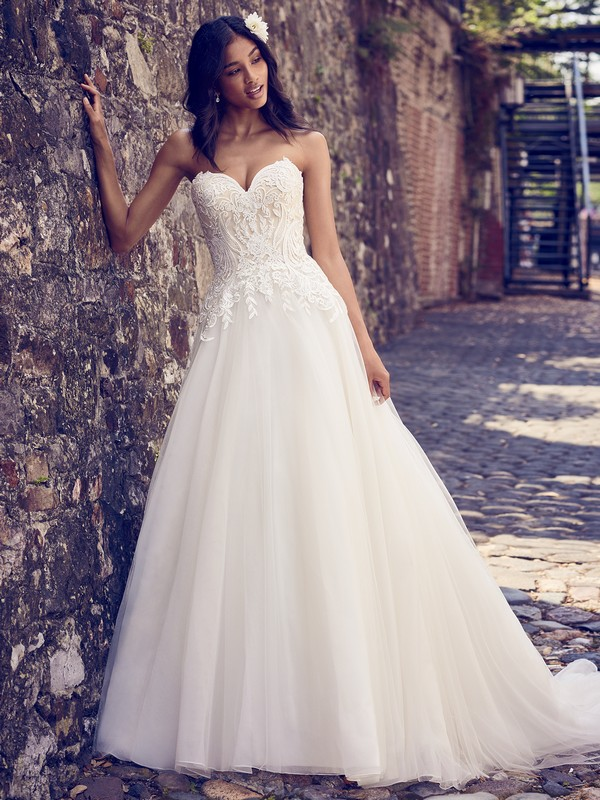 Rayna Wedding Dress from the Maggie Sottero Emerald 2018 Bridal Collection