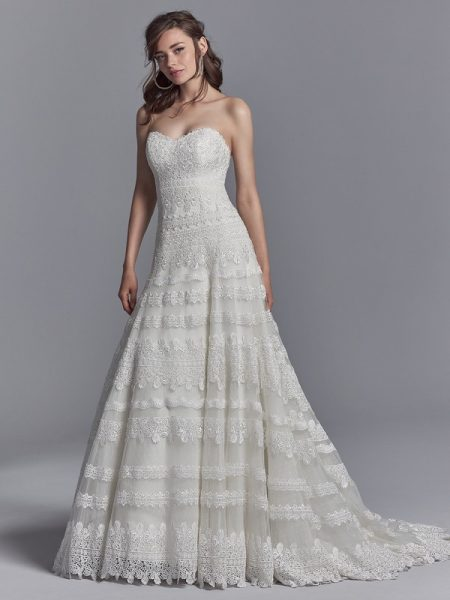 Reed Wedding Dress from the Sottero and Midgley Khloe 2018 Bridal Collection