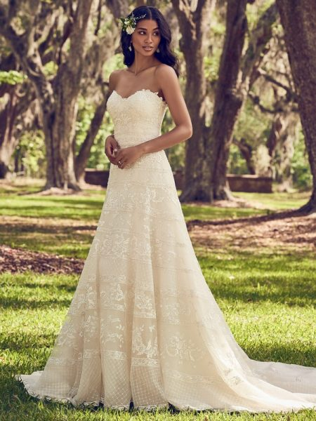 Renee Wedding Dress from the Maggie Sottero Emerald 2018 Bridal Collection