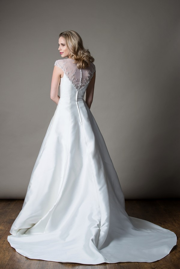 Back of Rochelle Wedding Dress from the MiaMia Love Letters 2018 Bridal Collection