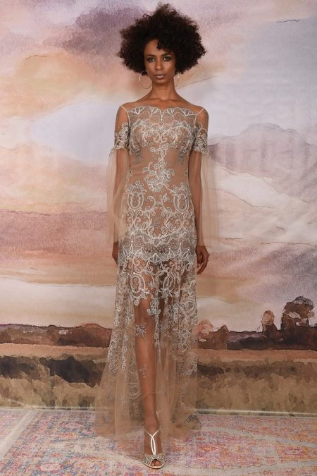 Sahara Wedding Dress from the Claire Pettibone Vagabond 2018 Bridal Collection