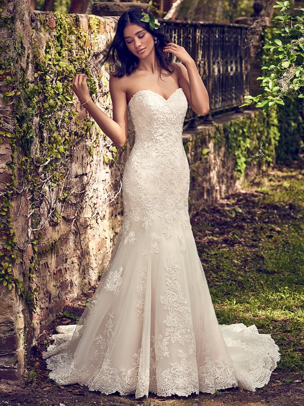 Saige Wedding Dress from the Maggie Sottero Emerald 2018 Bridal Collection