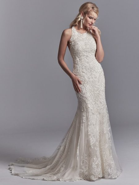 Scout Wedding Dress from the Sottero and Midgley Khloe 2018 Bridal Collection