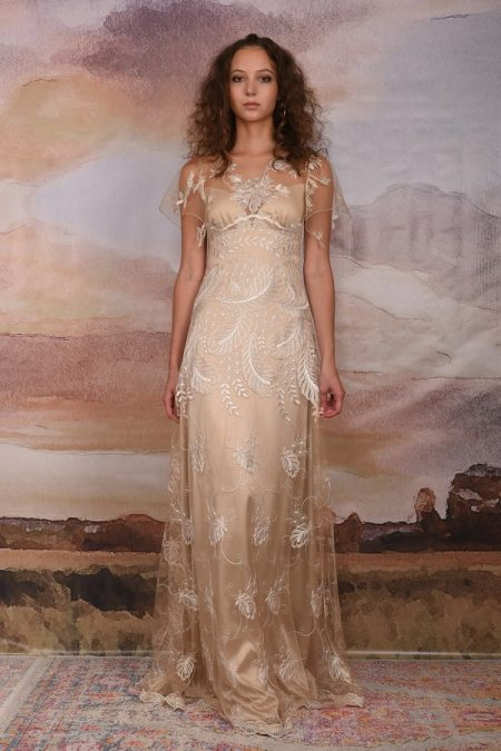 Seychelles Wedding Dress from the Claire Pettibone Vagabond 2018 Bridal Collection
