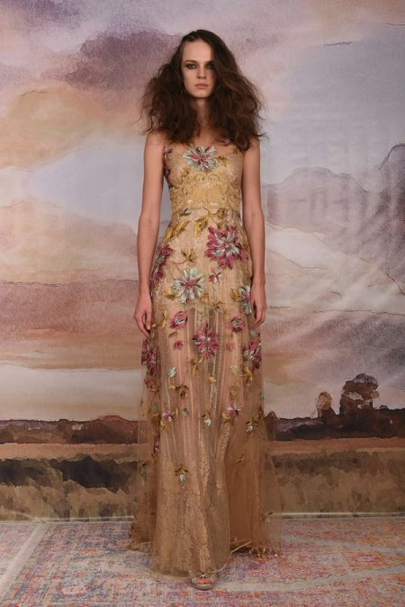 Shangri-la Wedding Dress from the Claire Pettibone Vagabond 2018 Bridal Collection