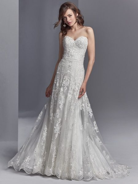 Skylar Wedding Dress from the Sottero and Midgley Khloe 2018 Bridal Collection